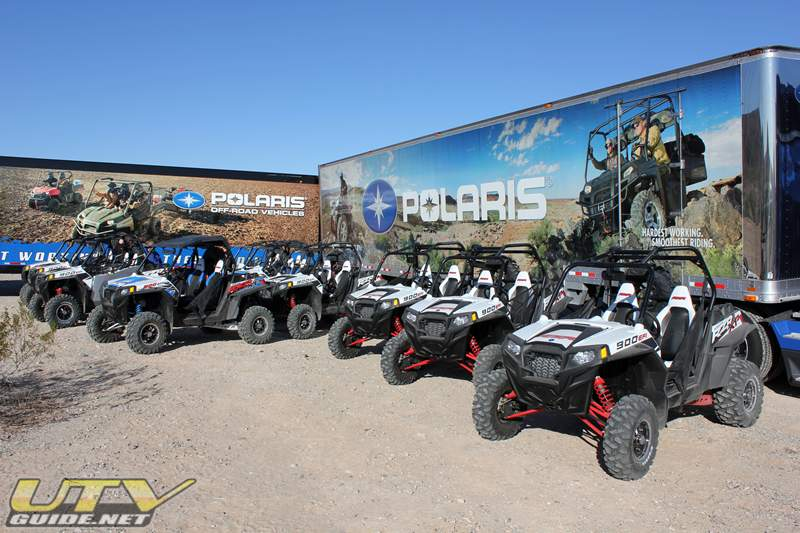Polaris Industries Press Event in Parker Arizona