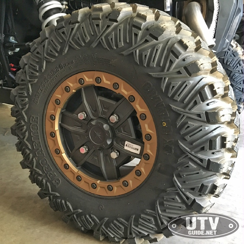 Pro Armor Crawler XG Tires with Beadlocks