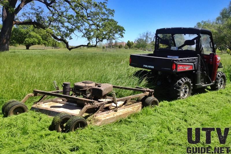 Kawasaki Mule Lawn Mower Attachment