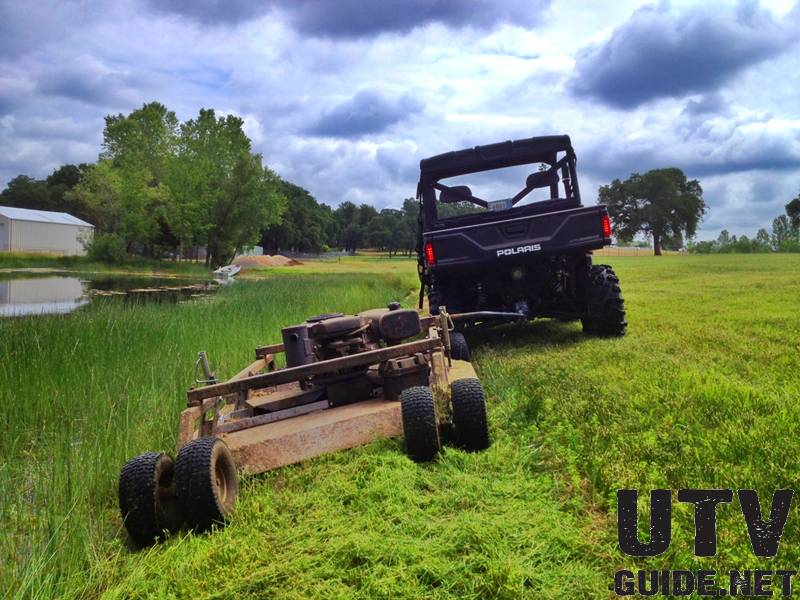 Polaris Ranger Xp 900 Field Mowing Review Utv Guide