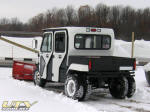 2008 Polaris Ranger Crew Dually with V-Plow