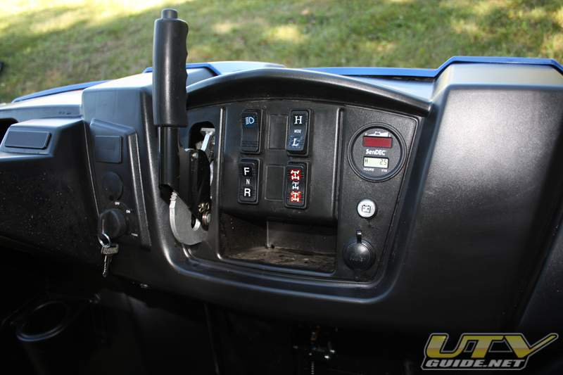 Polaris RANGER EV Dash