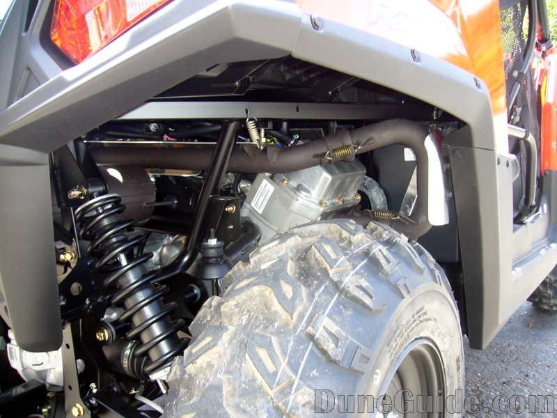 Polaris RZR Exhaust