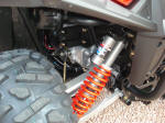 2009 Polaris RZR S Long Travel Suspension