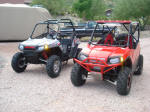 2009 Polaris RZR Sport vs. 2008 Polaris RZR