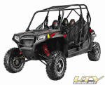 Black and Red 2011 Polaris RZR 4