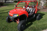 Polaris RZR with Fuego 4-inch Wide-Cornering HID Lights