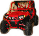 Polaris RZR - Long Travel Kit, Bumper, Roll Cage from LoneStar Racing