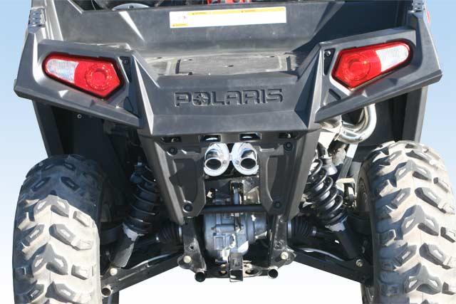 LTE Exhaust Pipe Muffler Quiet Core//Spark Arrestor Polaris RZR 800 800S 800-4