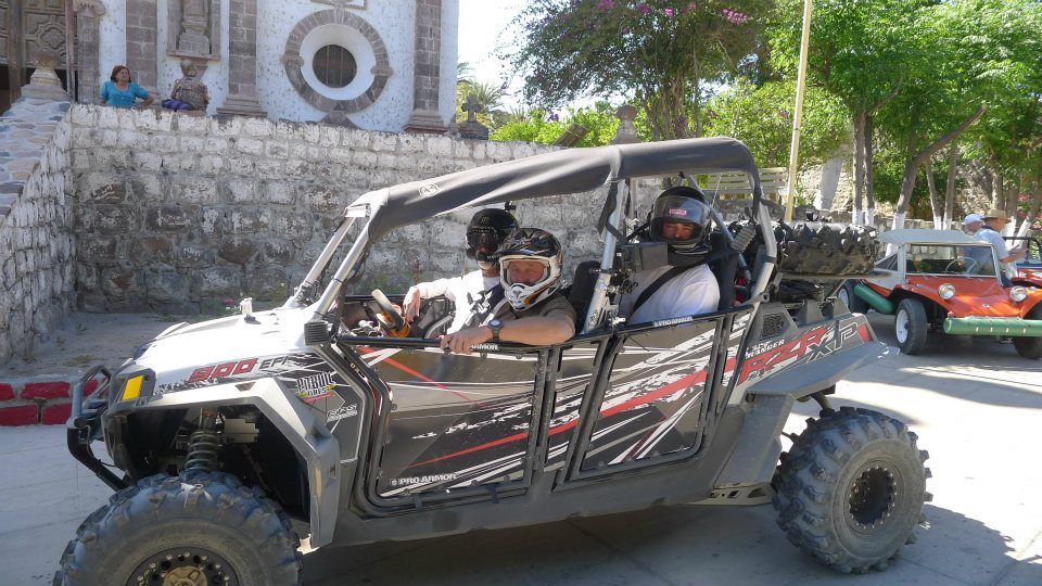 Polaris RZR XP 4 in Baja California