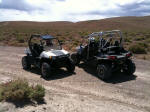 Polaris RZR S and Polaris RZR 4