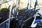 Polaris RZR 4 - Back Seat Nets
