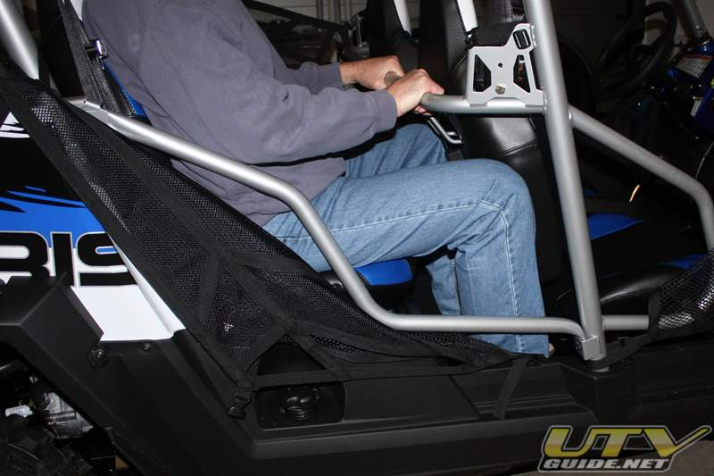 Polaris RZR 4 Legroom