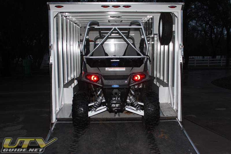 Polaris RZR 4 Height is 75""