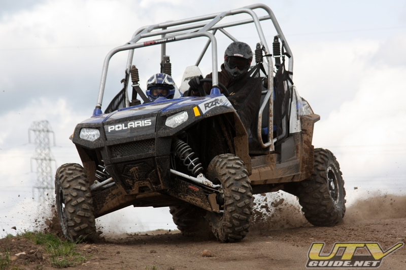 Polaris RZR 4 turning radius