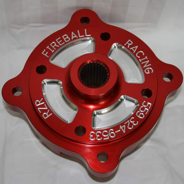 Polaris RZR Billet Hubs from Fireball Racing