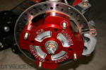 Polaris RZR - Billet Hub Installed with Brake Rotor