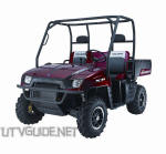 2008 Polaris Ranger LE - Midnight Red
