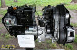 Polaris Ranger 904cc, three-cylinder Diesel Engine