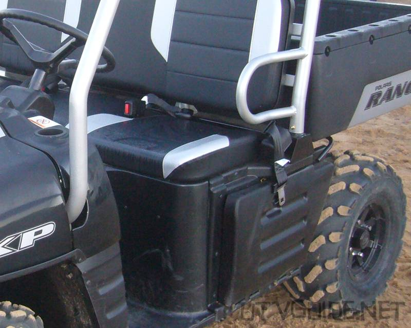 Lap Belt in the Polaris Ranger - No Shoulder Harness