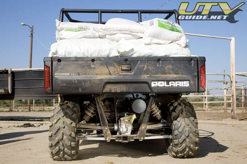 Polaris RANGER HD - Self-Leveling Suspension