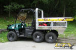 Polaris Ranger 6x6 with EMS Rescue Skid