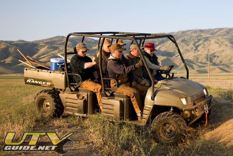 Polaris General 4 Seater >> Polaris Ranger Crew - UTV Guide