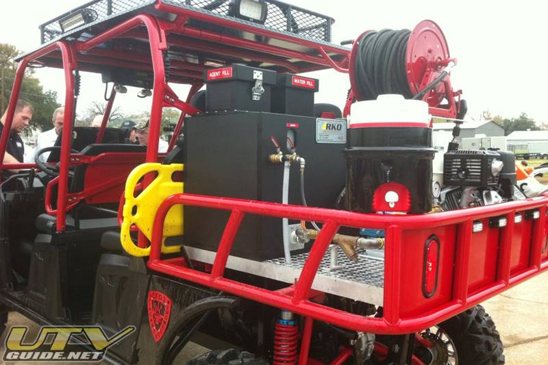 Firefighting Skids QTAC offers skids designed specifically for use on UTVs ATVs and pickup trucks These are light weight durable and capable systems built using our PolyTough copolymer polypropylene construction and onlytopnotch components