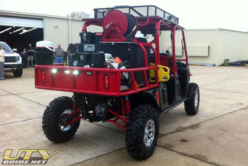 Fire Department Polaris Ranger Crew Diesel Utv Guide