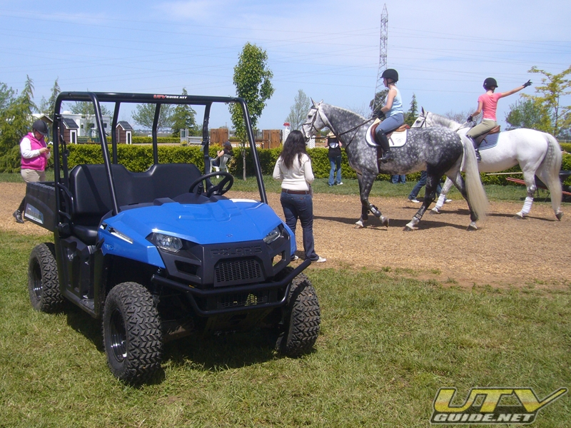 Polaris Ranger EV at Leone Equestrian