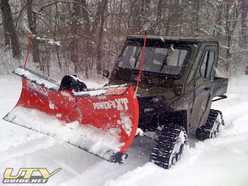 Polaris Ranger Hd Built For Plowing Snow Utv Guide