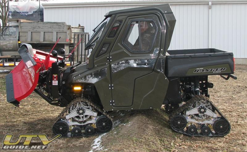 Polaris Ranger Hd Built For Plowing Snow Utv Guide