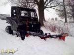 Polaris RANGER HD with BOSS Lift & Carry V-Plow