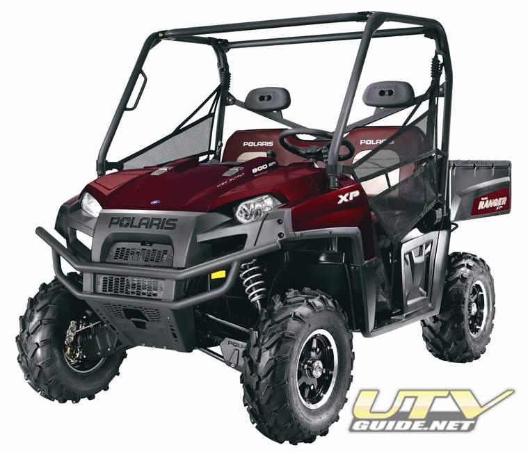 2011 Polaris Ranger Solar Red with EPS
