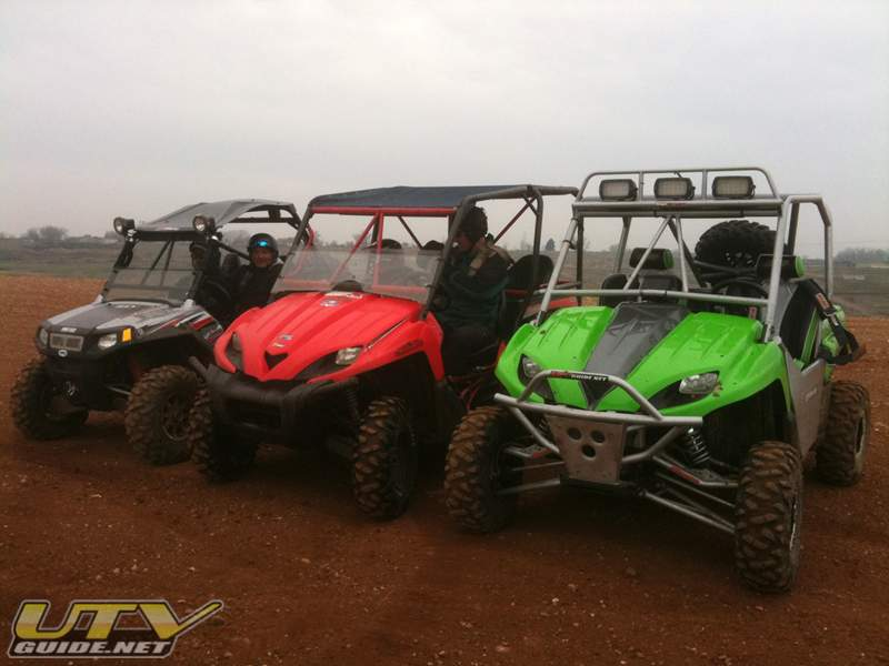 UTVs at Prairie City SVRA