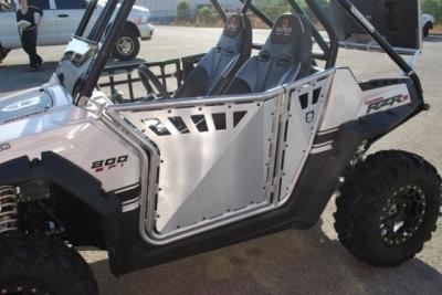 ... Pro Armor Polaris RZR Doors - Brushed Aluminum & Pro Armor Door Review - UTV Guide