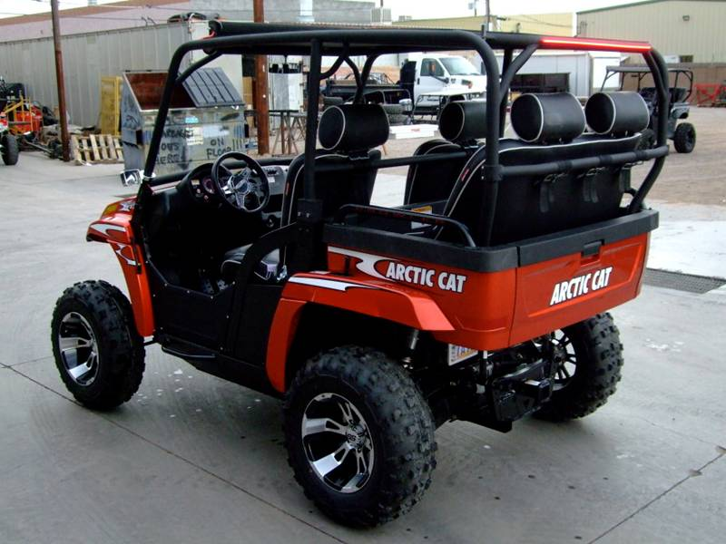 Arctic Cat Prowler Rear Seat And Cage