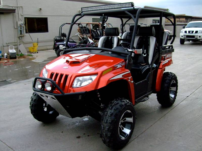 Arctic Cat Prowler 1000 with TMW Off-Road Roll Cage