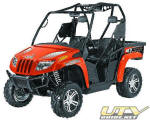 2012 Arctic Cat Prowler 700i XTX with EPS - Orange Metallic