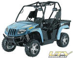 2012 Arctic Cat Prowler 700i XTX with EPS  - Steel Blue