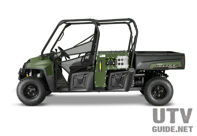 Polaris Ranger Diesel with HIPPO