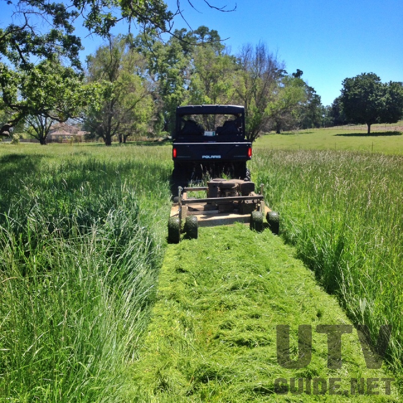 Polaris RANGER with Rough Cut Mower