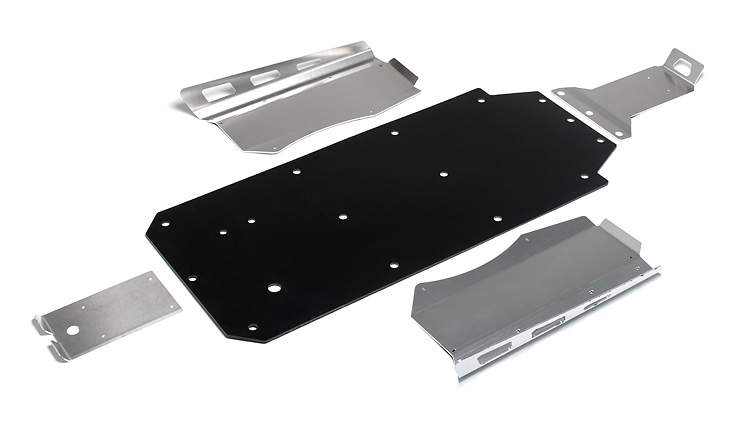 Polaris RZR UHMW Skid Plate from Holz Racing Products