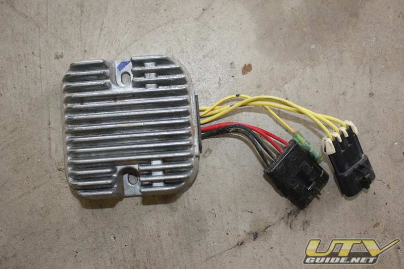 2008 Polaris RZR Voltage Regulator