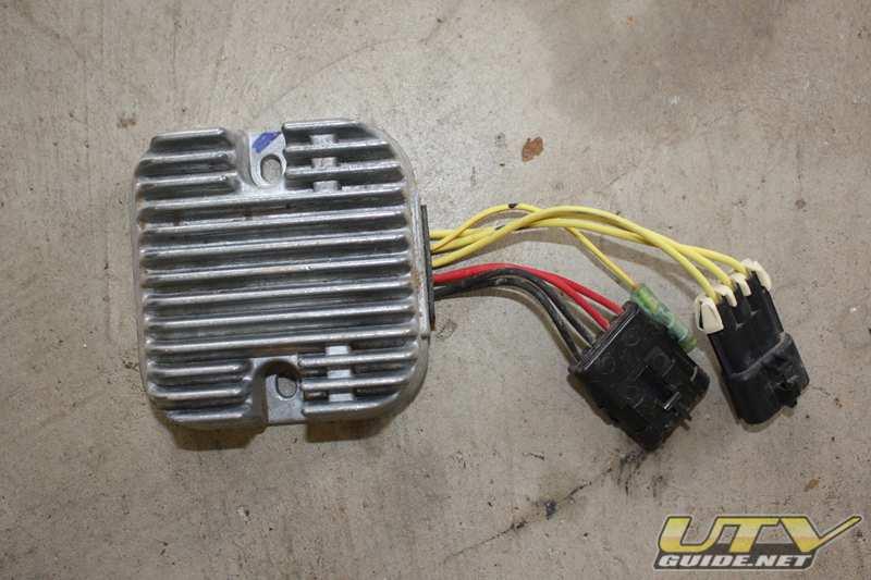 polaris rzr voltage regulator relocation utv guide Voltage Regulator Circuit