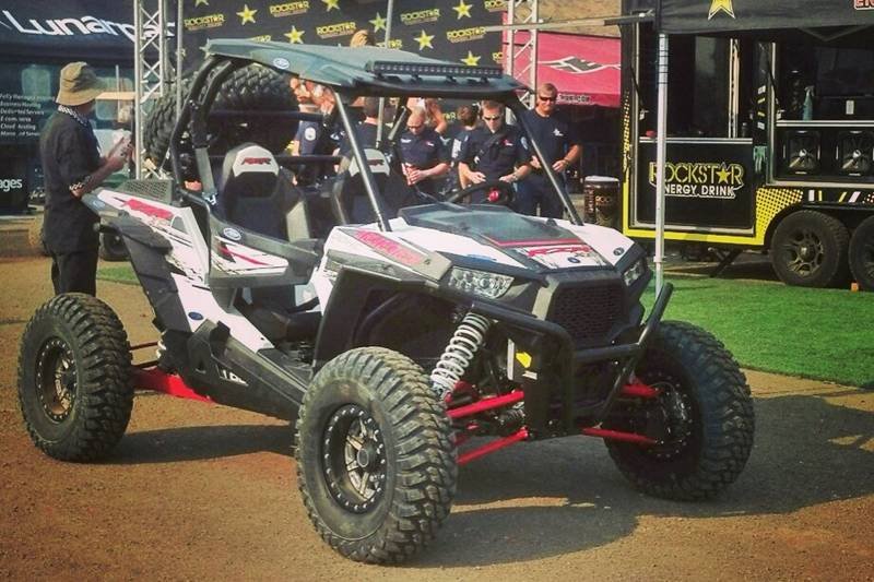 RZR XP 1000 at Lucas Oil Off-Road Races in Reno