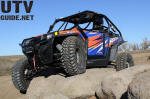 2013 Polaris RZR XP 900 EPS Orange Madness/Blue LE