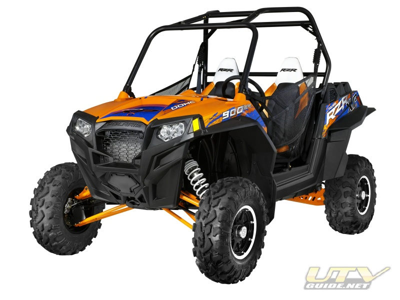 2013 Polaris RZR XP 900 LE Orange Madness/Blue