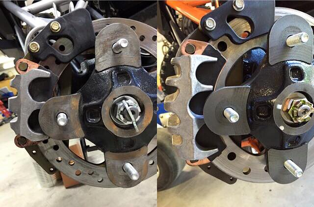 RZR XP Turbo Brakes