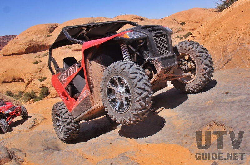 Arctic Cat Wildcat Trail on Poison Spider Mesa
